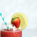 Strawberry Lemonade Daiquiri | Alexandra Adams