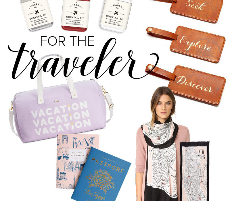 For the Traveler | Gift Guide | Christmas | Holiday