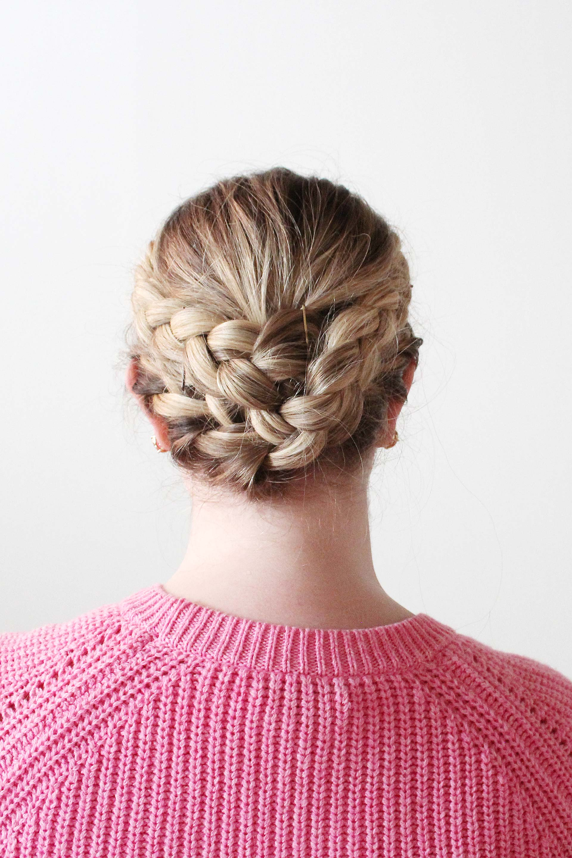 Hair How-To: French Crown Braid Tutorial | Alexandra Adams