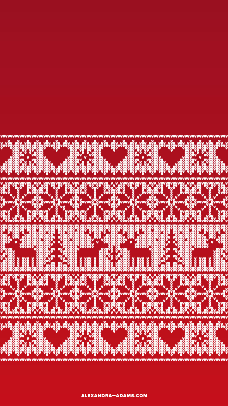 Winter Phone Holiday Wallpapers | Alexandra Adams